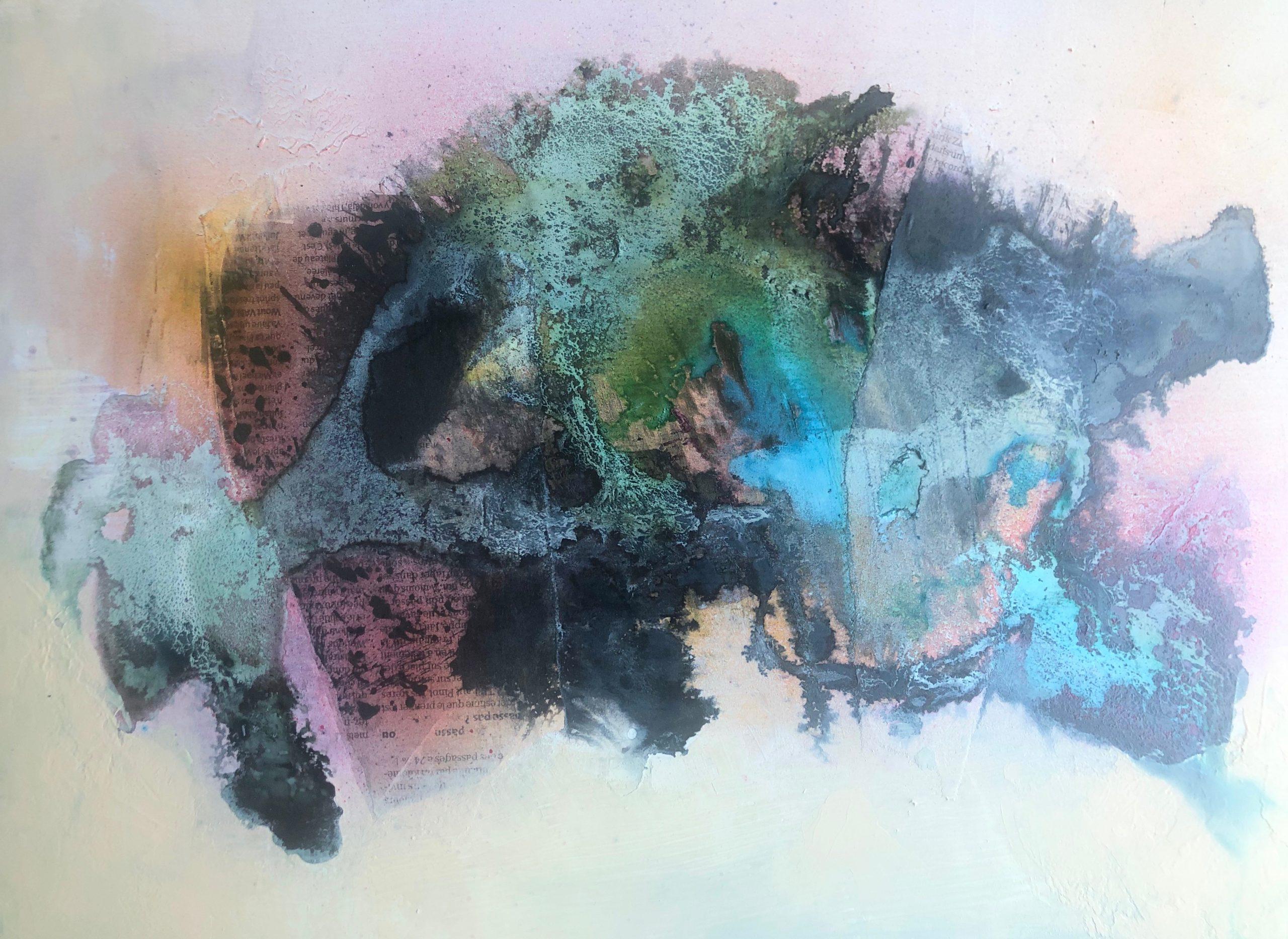 Acrylique sur akilux 43 x 31 cm