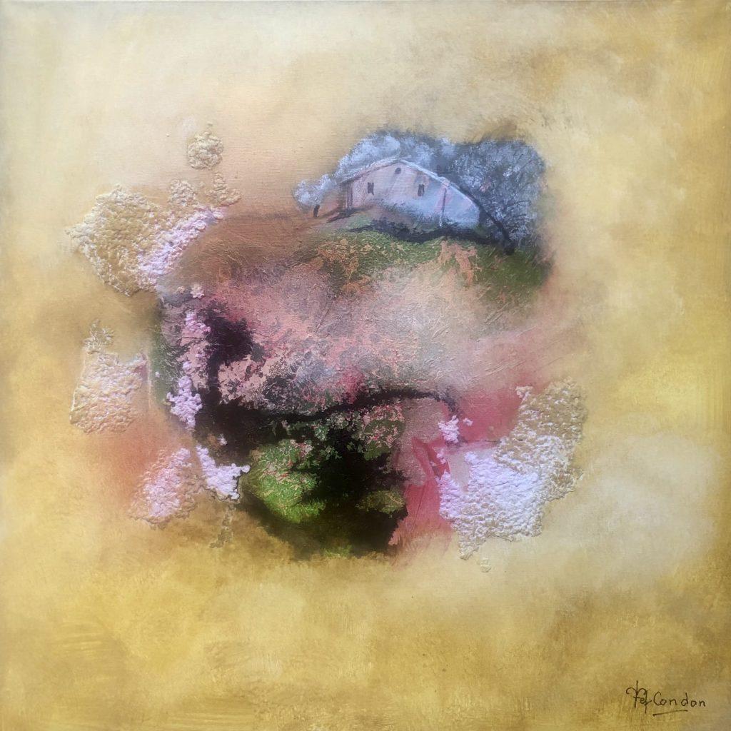 Acrylique sur toile 50 x 50 cm