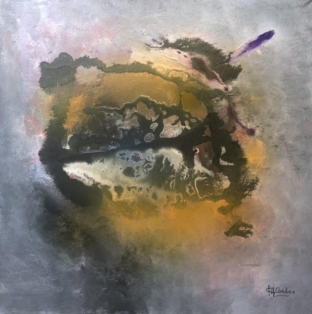 Acrylique sur toile 50 x50 cm