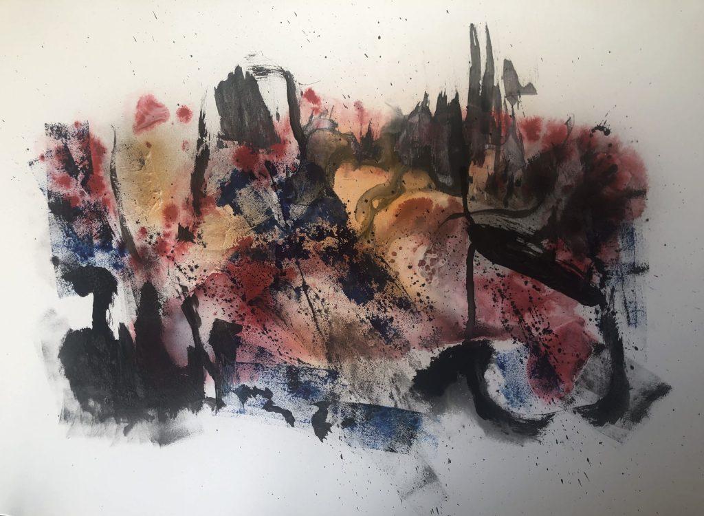 Acrylique sur toile 115 x 75 cm